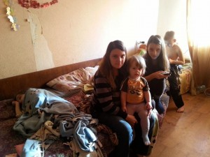 Помощь многодетной семье