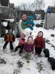 Помощь многодетной семье 1