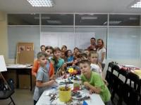 Волонтеры в Дзига