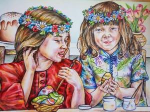 Моє улюблене свято-Великдень_Єлизавета Кутова